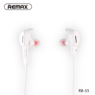 Auricolare / cuffie bluetooth REMAX SPORTY RB-S5 bianco