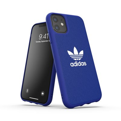 Futerał ADIDAS Originals Moulded CANVAS do iPhone 11 ( 6.1 ) niebieski