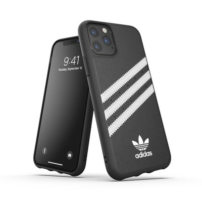 Futerał ADIDAS Originals Moulded Case PU do iPhone 11 PRO ( 5.8 ) czarny / biały