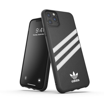 Futerał ADIDAS Originals Moulded Case PU do iPhone 11 PRO Max ( 6.5 ) czarny / biały