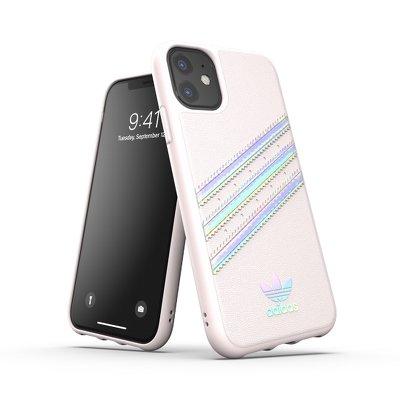 Futerał ADIDAS Originals Moulded Case PU WOMAN do iPhone 11 ( 6.1 ) holographic