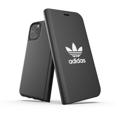 Futerał ADIDAS Originals Booklet Case BASIC do iPhone 11 PRO ( 5.8 ) czarno biały