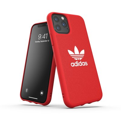 Futerał ADIDAS Originals Moulded Case CANVAS do iPhone 11 PRO ( 5.8 ) scarlet