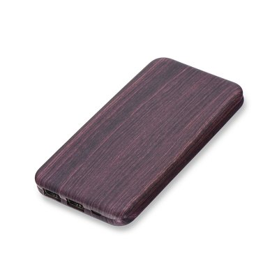 POWER BANK PURIDEA S2 10 000 mAh dark wood