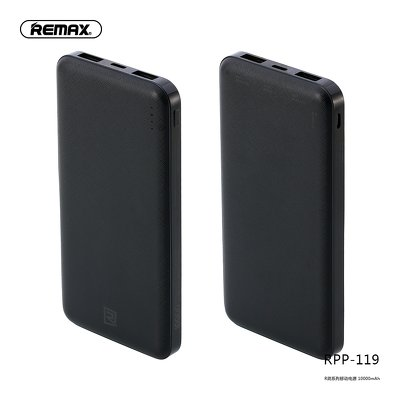 REMAX power bank Jane RPP-119 10 000mAh czarny