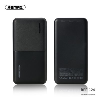 REMAX power bank Linion 2 RPP-124 10 000mAh czarny