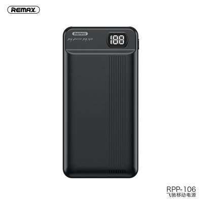 REMAX power bank RPP-106 20 000mAh czarny