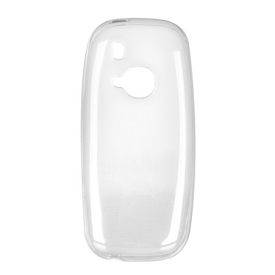 BACK CASE Ultra Slim 0,3mm - NOK 3310 2017 trasparente
