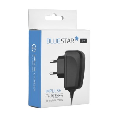 CARICABATTERIE micro USB UNIVERSALE 1A BLUE STAR LITE